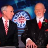 Ron MacLean and Don Cherry Coach's Corner 26
