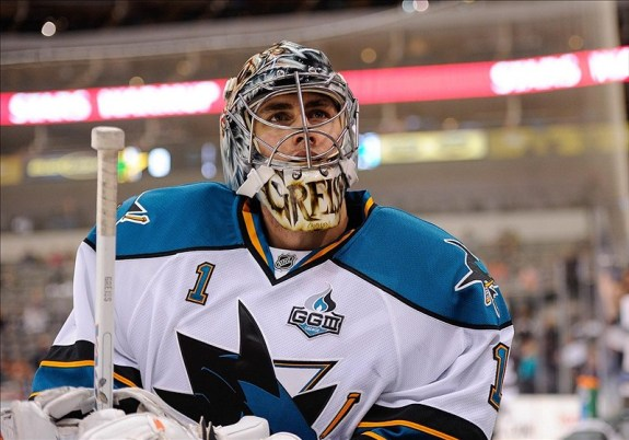 Thomas Greiss was always a solid back-up in San Jose, and has continued to do that same job with Phoenix this season. (Jerome Miron-USA TODAY Sports)