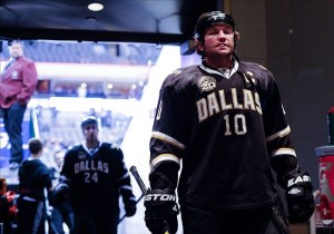 Morrow was the Stars' captain at the time he was traded (Jerome Miron-USA TODAY Sports)