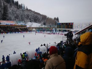Bandy played at the Asian Winter Games (A.Burgermeister)