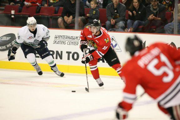 Portland's Nic Petan is a dynamic scorer (WHL.ca)