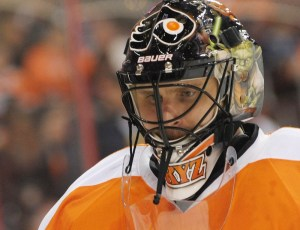 Tired of his mediocrity and antics, the Flyers bought out Bryzgalov earlier this summer. (Eric Hartline-USA TODAY Sports)