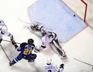 The Blues have one of the league's best offenses this season (Scott Rovak-USA TODAY Sports)