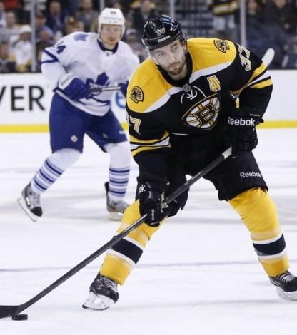 Boston Bruins Detroit Red Wings Patrice Bergeron