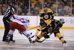 Bergeron has one power play goal this postseason (Michael Ivins-USA TODAY Sports)