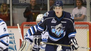 Gauthier plays the two-way game the Red Wings love (Rimouski Oceanic)