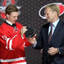 The Hurricanes will need to make sure they have enough room for Elias Lindholm's cap hit if he plans to be on the team.