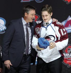 Nathan MacKinnon should factor into Calder Trophy voting (Ed Mulholland-USA TODAY Sports)
