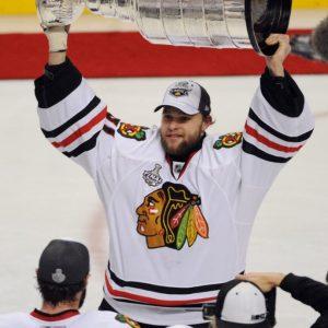 Ex-Chicago Blackhawks goalie Antti Niemi
