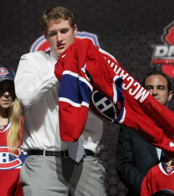 McCarron wishes hockey jerseys were made big enough for his kodiak bear-like frame (Ed Mulholland-USA TODAY Sports)