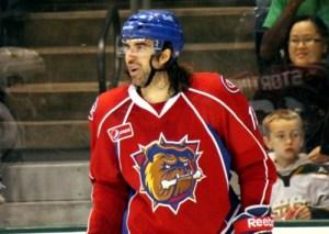 Zack Stortini Playing With The AHL's Bulldogs Zack Stortini Photo Credit:(Ross Bonander/THW)