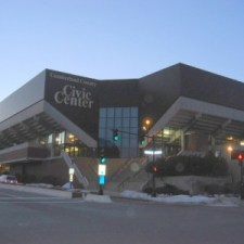 Cumberland County Civic Center, home of the Portland Pirates