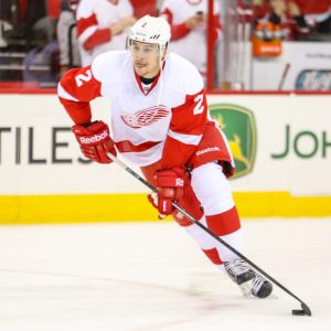 Brendan Smith of the Detroit Red Wings