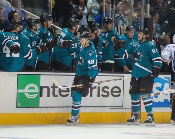 San Jose Sharks lines