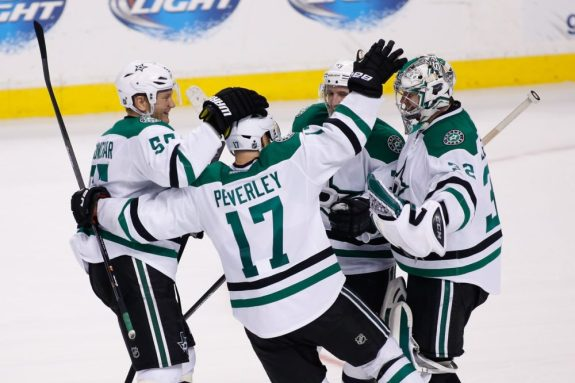 Rich Peverley has been invaluable for the Stars since they traded for him this summer (Greg M. Cooper-USA TODAY Sports)