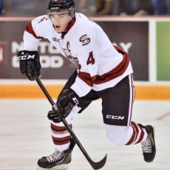 Matt Finn is leading the Storm to early season success (Terry Wilson/OHL Images)