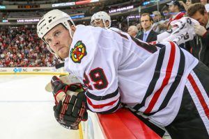 Chicago Blackhawks left wing Bryan Bickell - Photo Credit:  Andy Martin Jr
