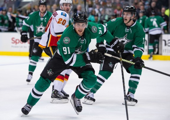 Could Tyler Seguin be Team Canada's replacement for Steven Stamkos in Sochi? (Jerome Miron-USA TODAY Sports)
