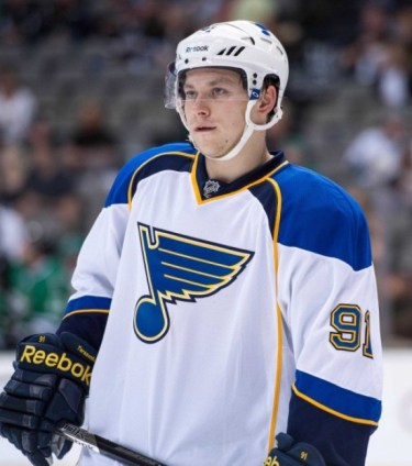 Tarasenko was the Blues' most dynamic forward in the playoffs (Jerome Miron-USA TODAY Sports)