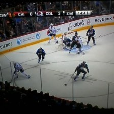 Zone Spacing - Blackhawks