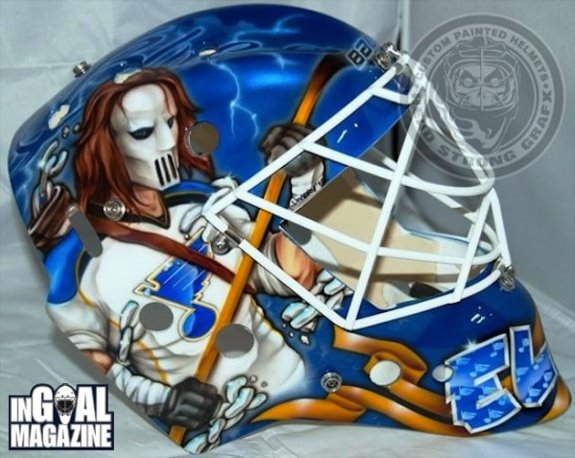 Brian Elliot Blues Mask
