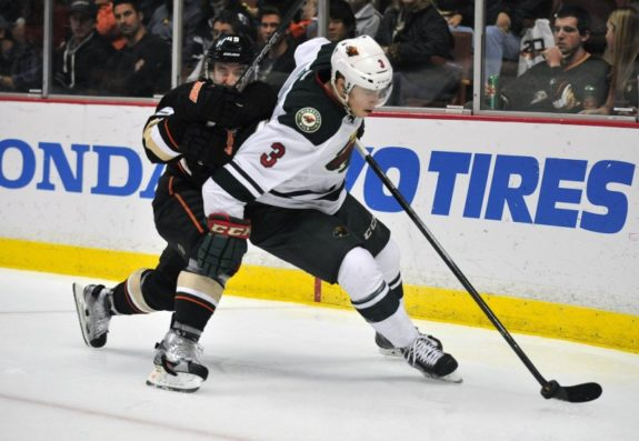 Minnesota Wild center Charlie Coyle