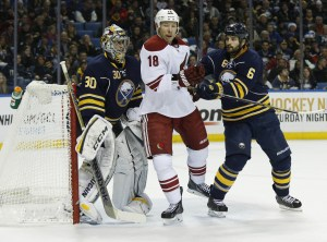 Ryan Miller is headed to St. Louis. (Kevin Hoffman-USA TODAY Sports)