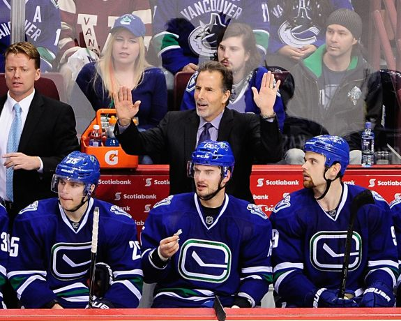 The Vancouver Canucks Will Soon Fade Out of the Western Conference Playoff Picture For Good (Anne-Marie Sorvin-USA TODAY Sports)
