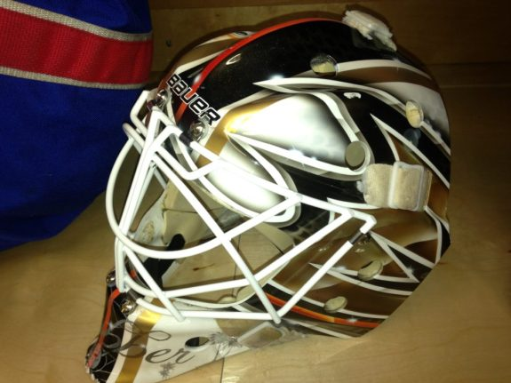 This side features the Duck logo. Photo Credit:(Norfolk Admirals)
