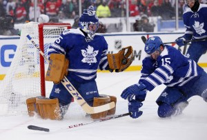 The Winter Classic was just one in a string of what could be a high amount of consecutive starts for Jonathan Bernier (Rick Osentoski-USA TODAY Sports)