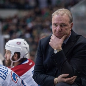 Montreal Canadiens head coach Michel Therrien