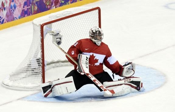 Canadian Olympic Goaltender Carey Price