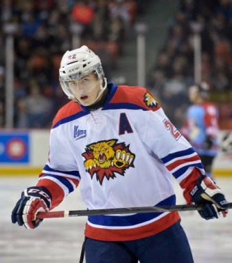 Ivan Barbashev is a 2-way, Russian forward [photo: David Chan]