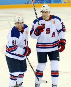 Toronto Maple Leafs, Phil Kessel, James van Riemsdyk, NHL, Toronto, Team USA, Sochi, Olympics, Hockey