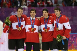 Jonathan Toews and Sidney Crosby won their 2nd Olympic gold medal as teammates in Sochi.