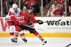 Teuvo Teravainen created a lot of hype last season coming over from Finland (Rob Grabowski-USA TODAY Sports)