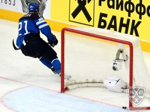 Lehteraa scores against the Czech Republic