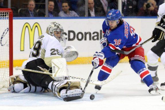 Mats Zuccarello, New York Rangers