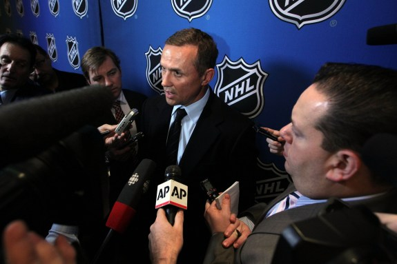 Among the early candidates for GM of the Year, Steve Yzerman continues to add pieces such as, Anton Stralman, to the Tampa Bay Lightning.
