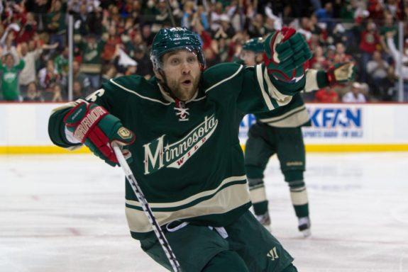 Jason Zucker Minnesota Wild