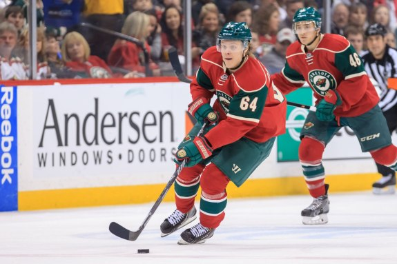 (Brad Rempel-USA TODAY Sports) Mikael Granlund was a big reason why the Minnesota Wild made it as far as they did in the 2014 playoffs, giving the Chicago Blackhawks a run for their money in the second round. Granlund should continue to be an offensive catalyst in 2014-15.