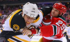 Devils Literally Fight for Victory