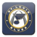 St. Louis Blues square logo