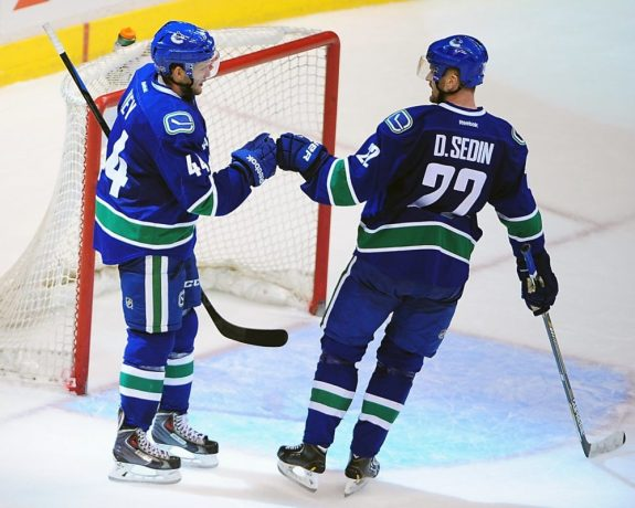 Would expansion to the Emerald City affect the Canucks' fan base? (Anne-Marie Sorvin-USA TODAY Sport)