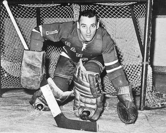 Jacques Plante goalie