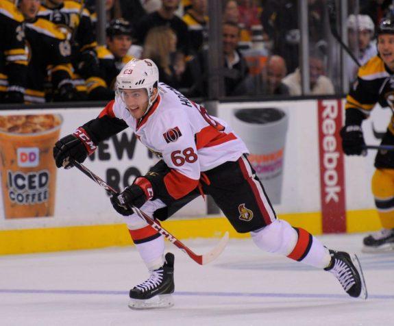 Mike Hoffman Ottawa Senators