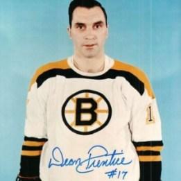 Dean Prentice scored the game winner for the Bruins