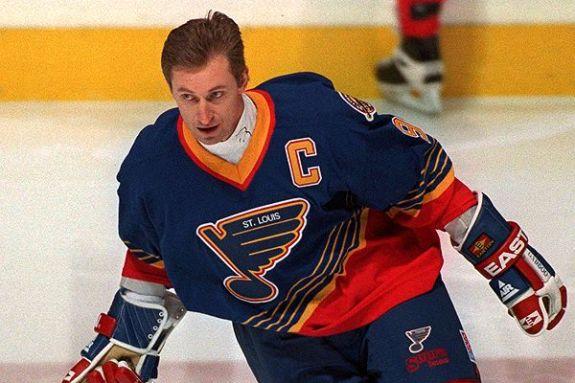 Wayne Gretzky, St. Louis Blues