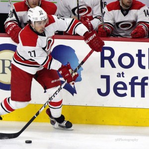 Ron Francis is building with players like Justin Faulk (Amy Irvin / The Hockey Writers)