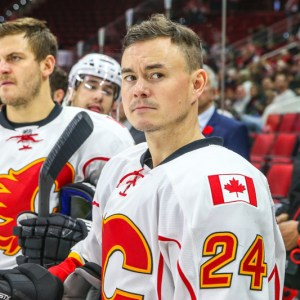 Jiri Hudler is scheduled to become a free agent after a decent playoffs with the Florida Panthers.